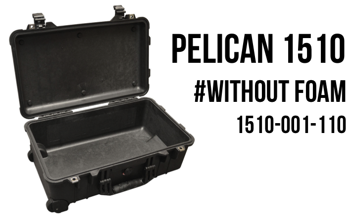 Pelican case 1510 without foam