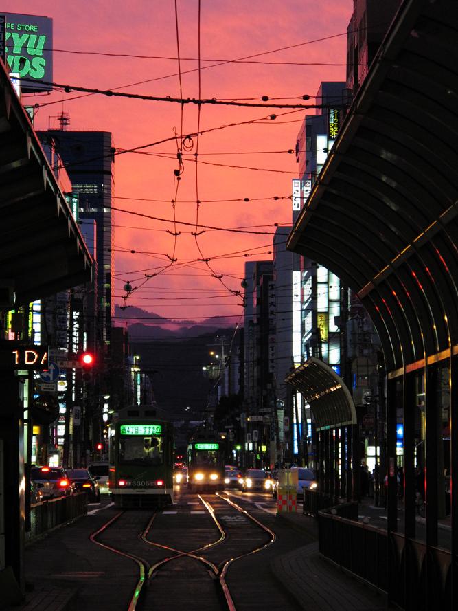 札幌市営交通の路面電車をPowerShot G11で撮影