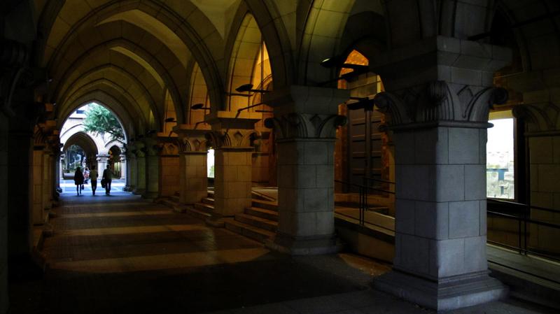 東京大学の構内をPowerShot G11で撮影