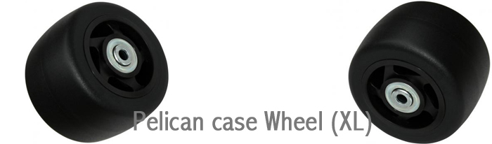 ペリカンケース の車輪(ホイール)XLサイズ