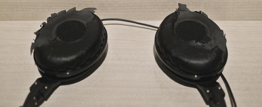 ゼンハイザーHD219のイヤーパッド交換