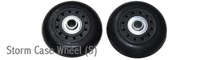 ペリカンケース の車輪(ホイール)Sサイズ