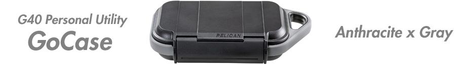 ペリカンGoCase G40 アントラシート/グレー