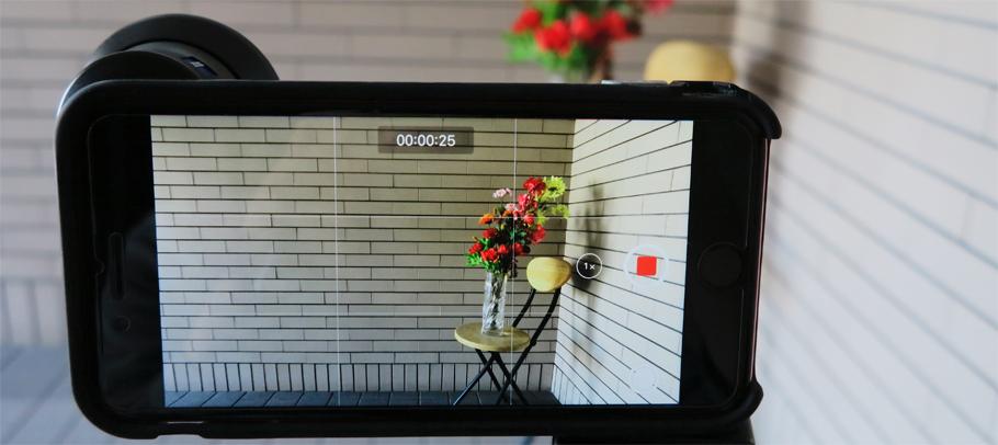 動画撮影にてZEISSワイコンを検証